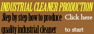 industrial cleaner production